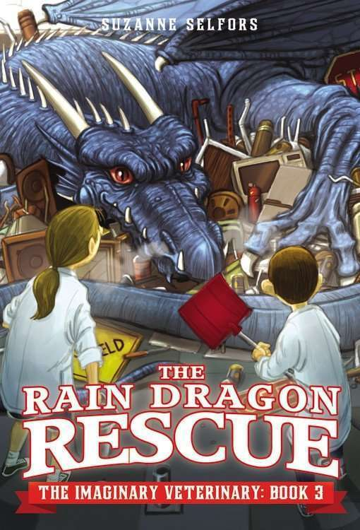 The Rain Dragon Rescue cover