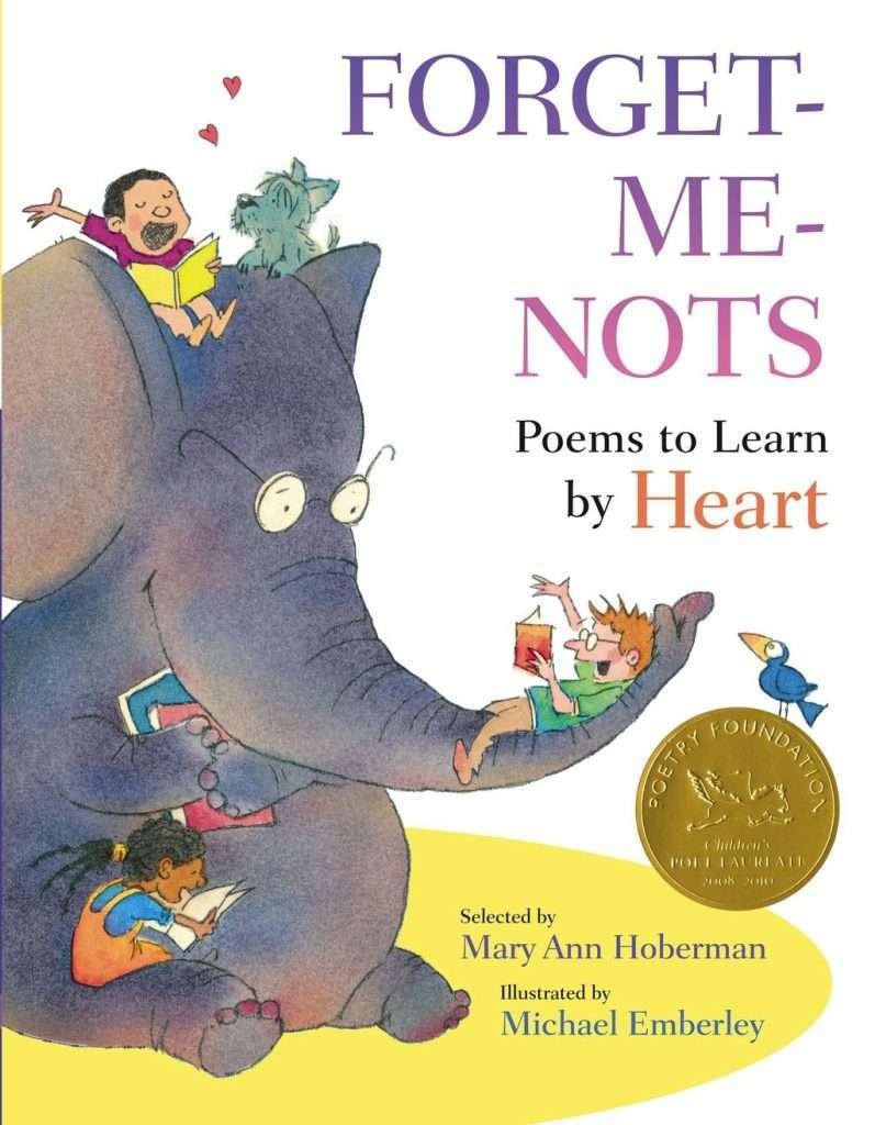 Forget-Me-Nots: Poems to Learn by Heart cover