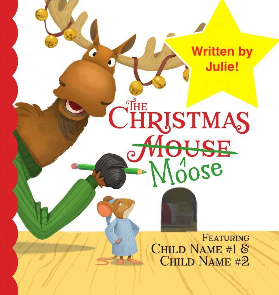 The Christmas Moose cover with star