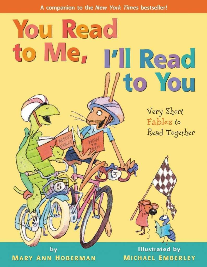 You Read to Me, I'll Read to You: Very Short Fables to Read Together cover