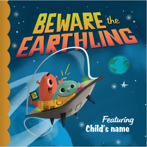 Beware the Earthling cover